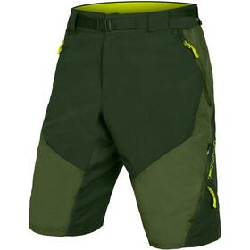 Endura Hummvee II Shorts with Liner Men, oliwkowy